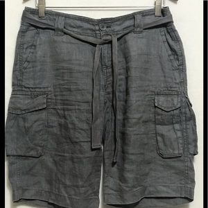 GAP Linen cargo shorts